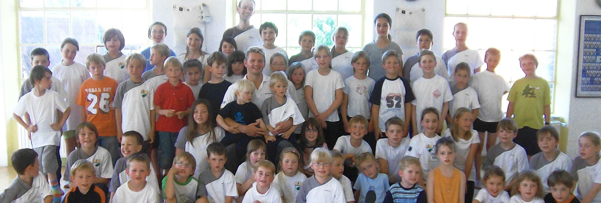 WingTsun Kindergruppe im Dorfgemeinschaftshaus Groß Steinrade